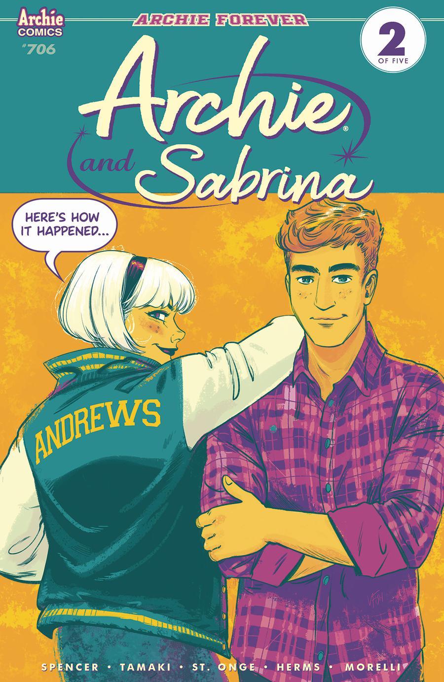Archie Vol 2 #706 Cover A Regular Veronica Fish Cover
