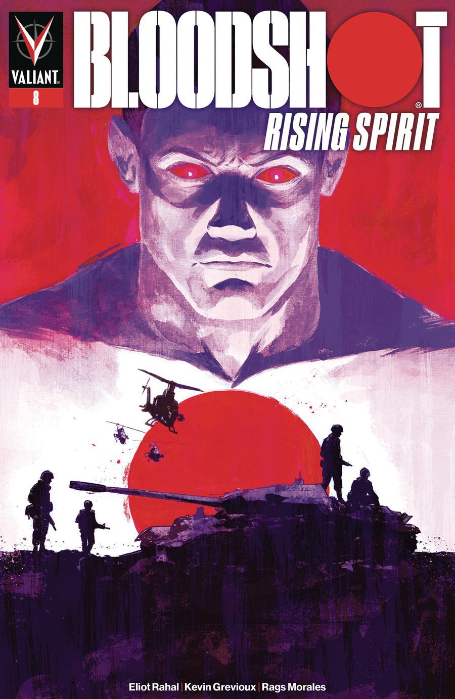 Bloodshot Rising Spirit #8 Cover C Variant Michael Walsh Cover