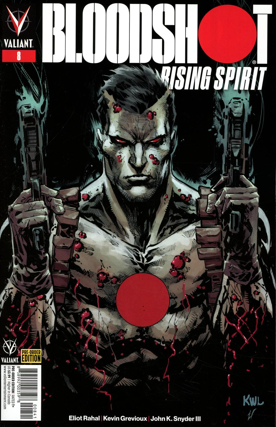 Bloodshot Rising Spirit #8 Cover D Variant Ken Lashley Cover