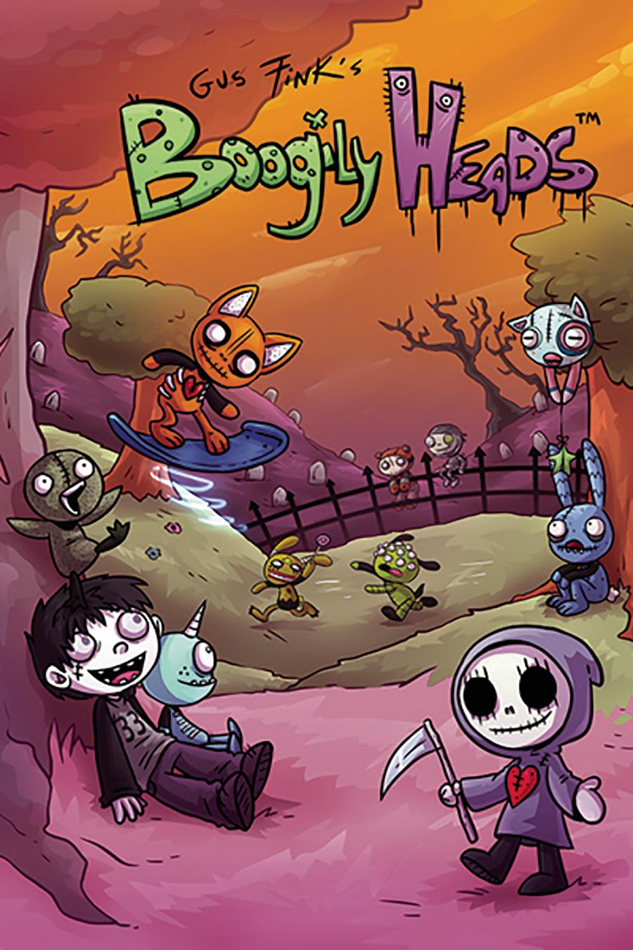 Boogily Heads #1 Cover A 1st Ptg Regular Laura Pendl Cover