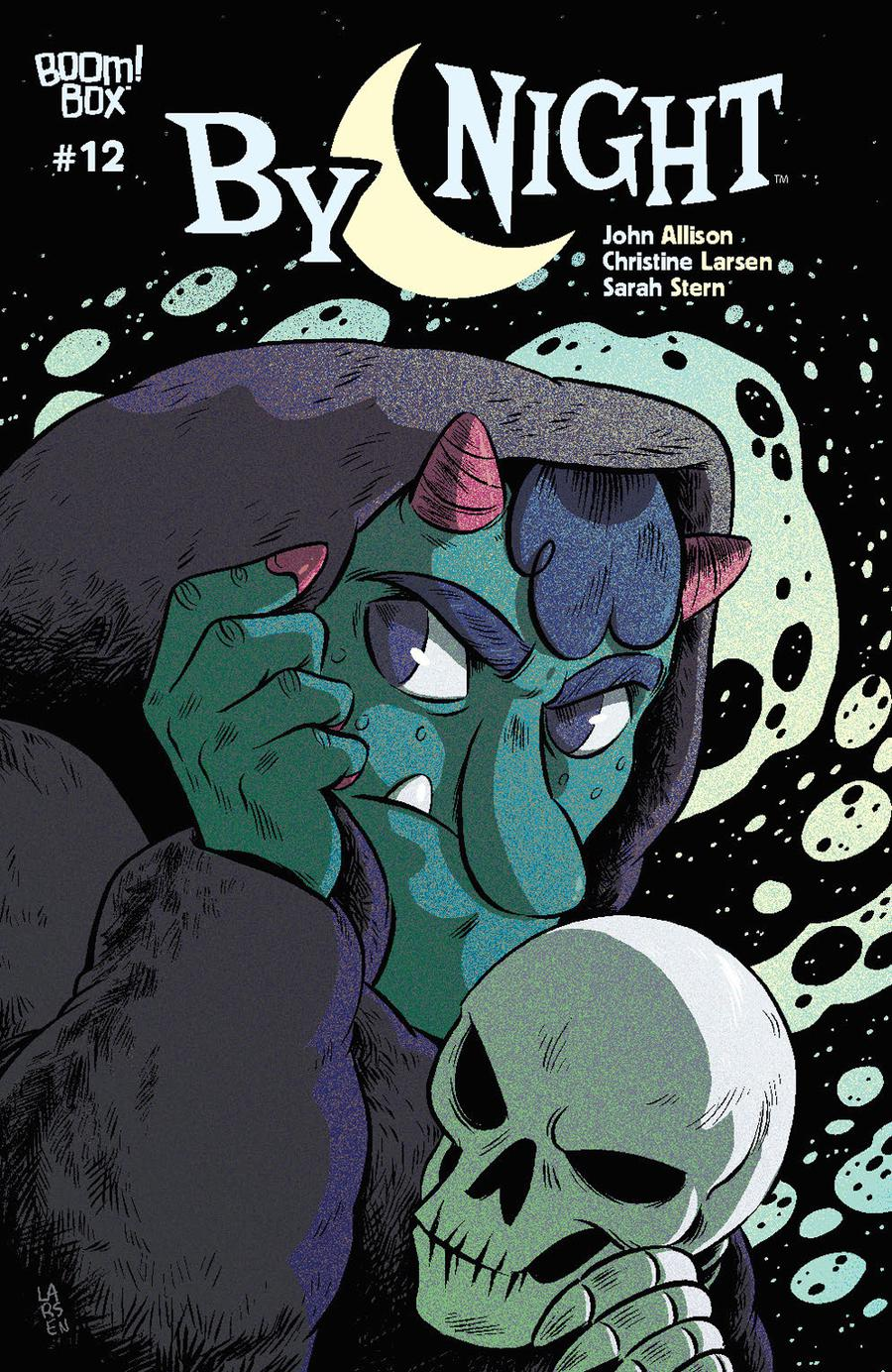 By Night #12 Cover A Regular Christine Larsen Cover