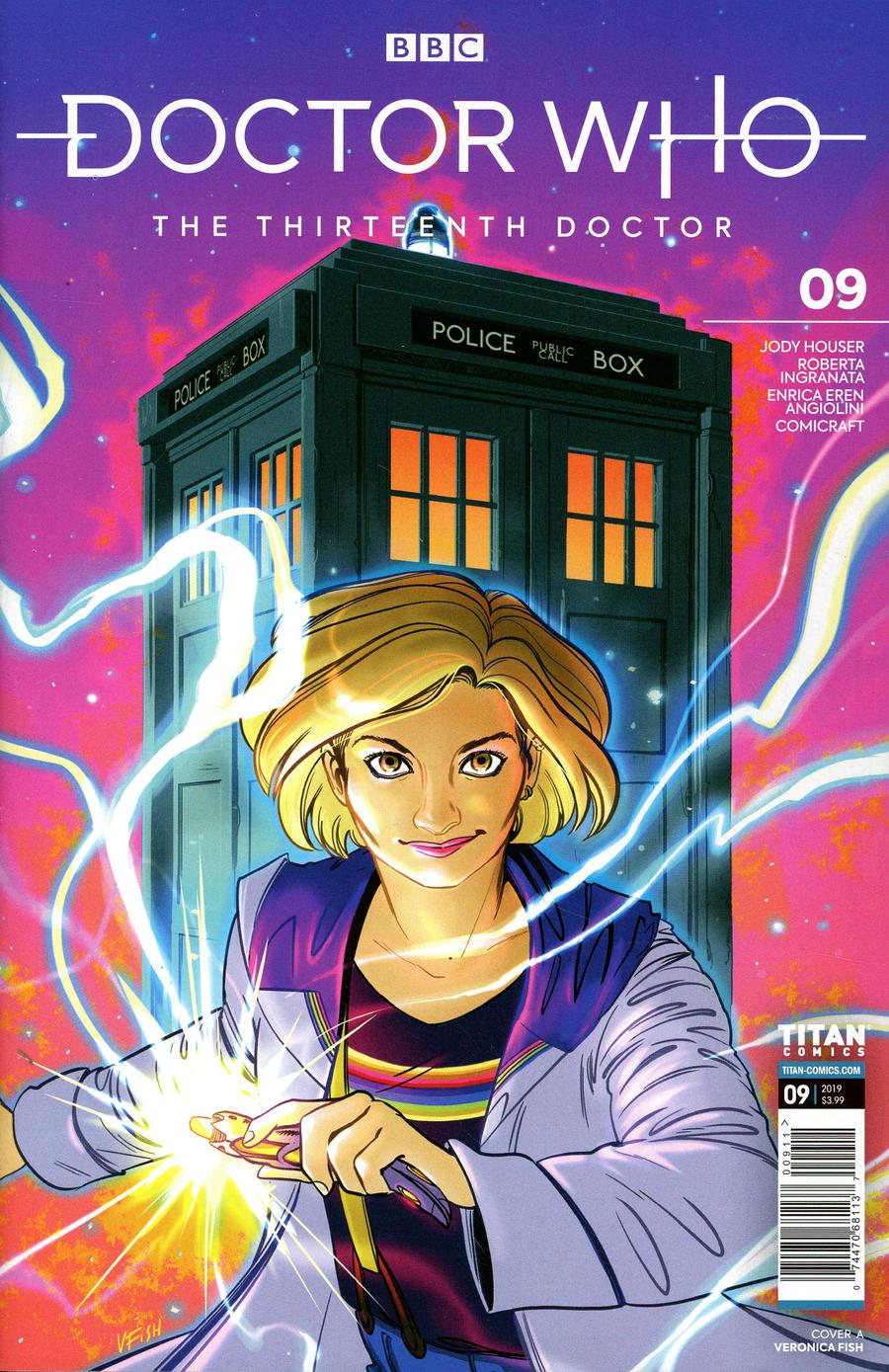 Doctor Who 13th Doctor #9 Cover A Regular Veronica Fish Cover