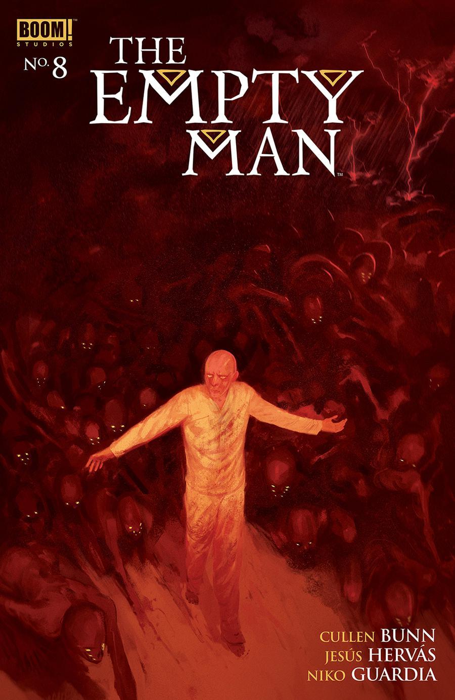 Empty Man Vol 2 #8 Cover A Regular Vanesa R Del Rey Cover