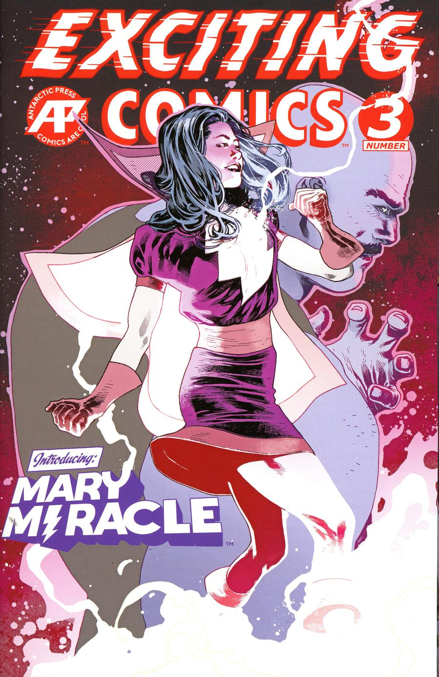 Exciting Comics Vol 2 #3 Cover B Variant Mary Miracle Cover