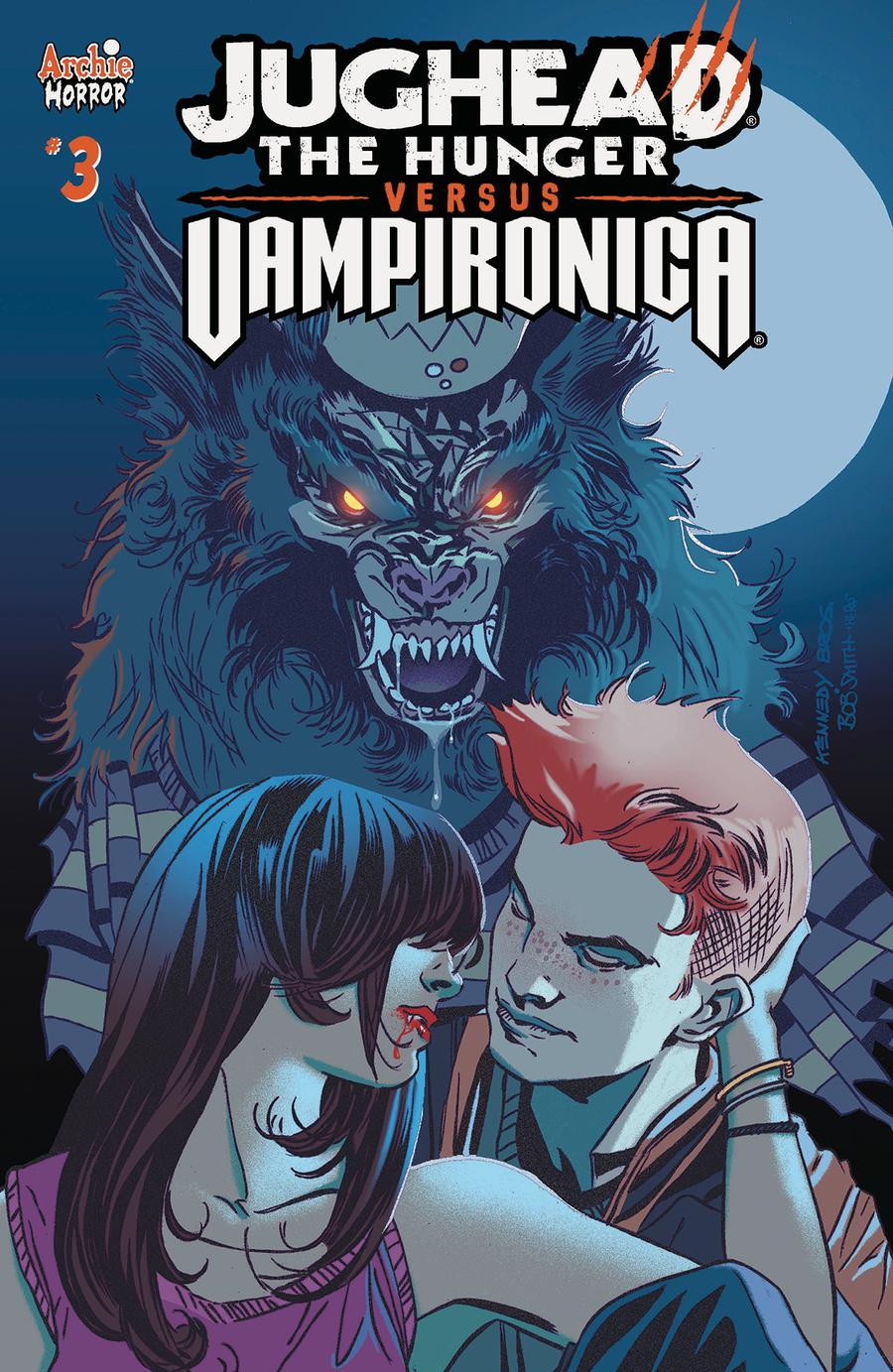 Jughead The Hunger Versus Vampironica #3 Cover A Regular Pat Kennedy & Tim Kennedy Cover