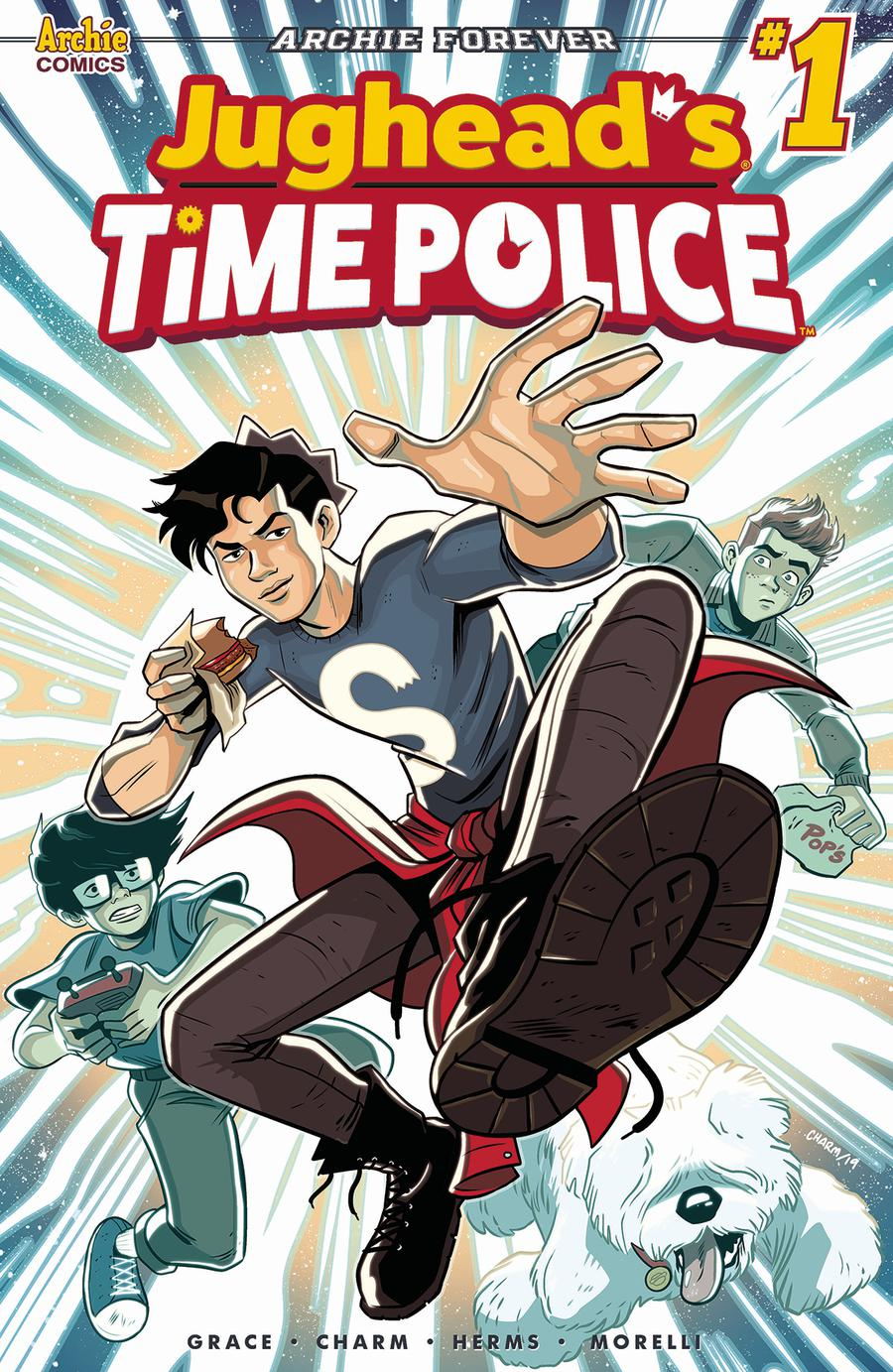 Jugheads Time Police Vol 2 #1 Cover A Regular Derek Charm Cover