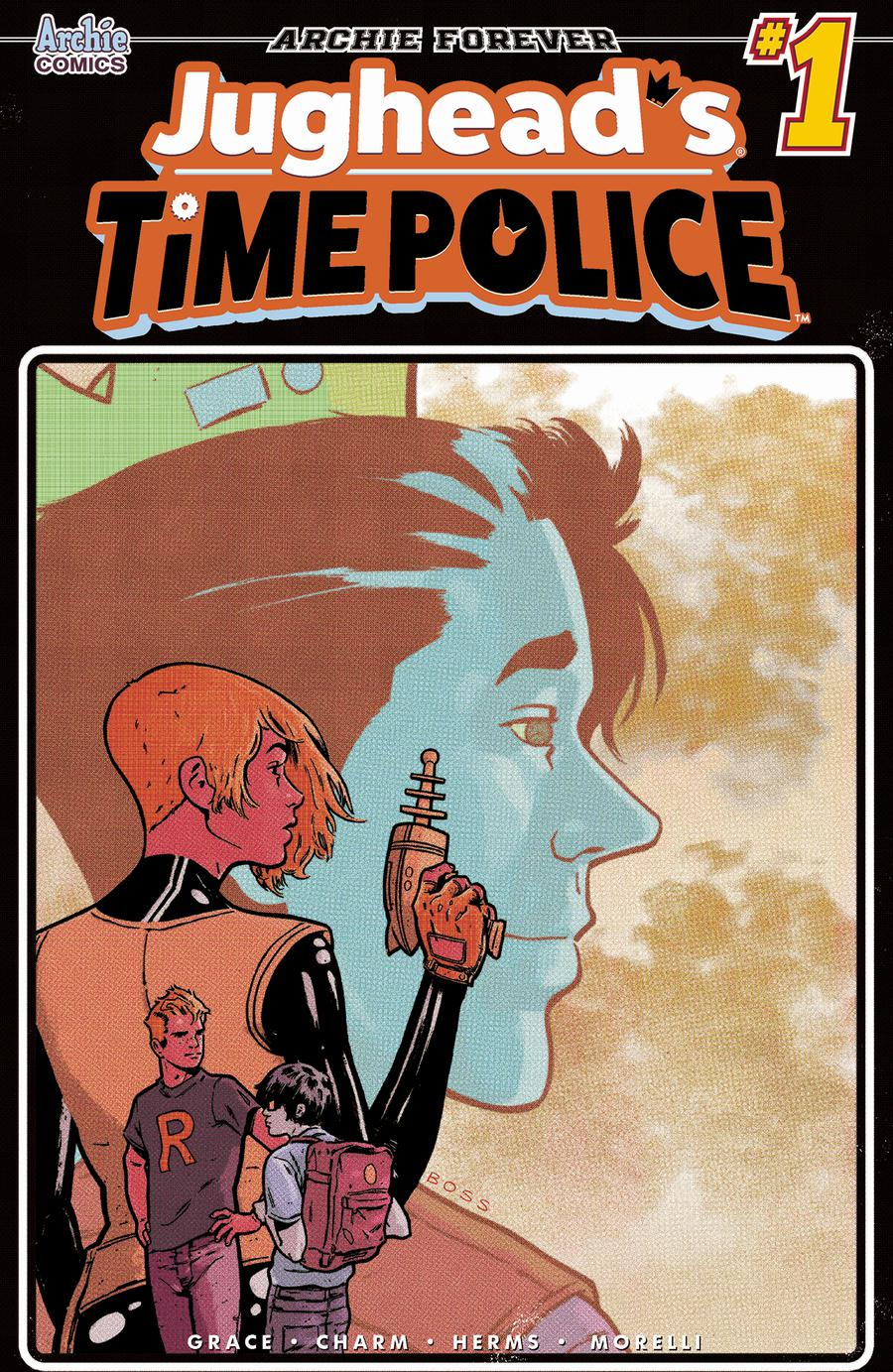 Jugheads Time Police Vol 2 #1 Cover B Variant Tyler Boss Cover