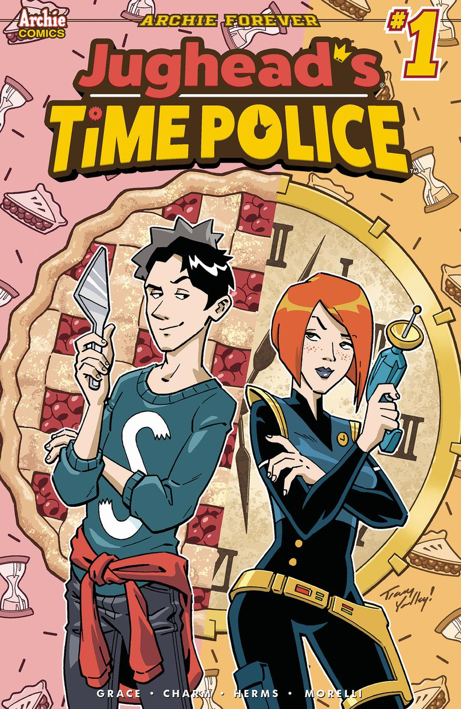 Jugheads Time Police Vol 2 #1 Cover E Variant Tracy Yardley Cover