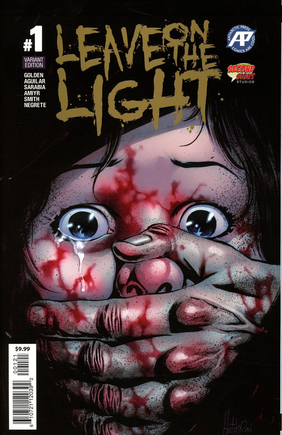 Leave On The Light #1 Cover B Variant David Hutchison Foil Cover