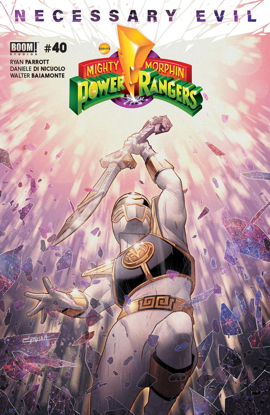 Mighty Morphin Power Rangers (BOOM Studios) #40 Cover A Regular Jamal Campbell Cover
