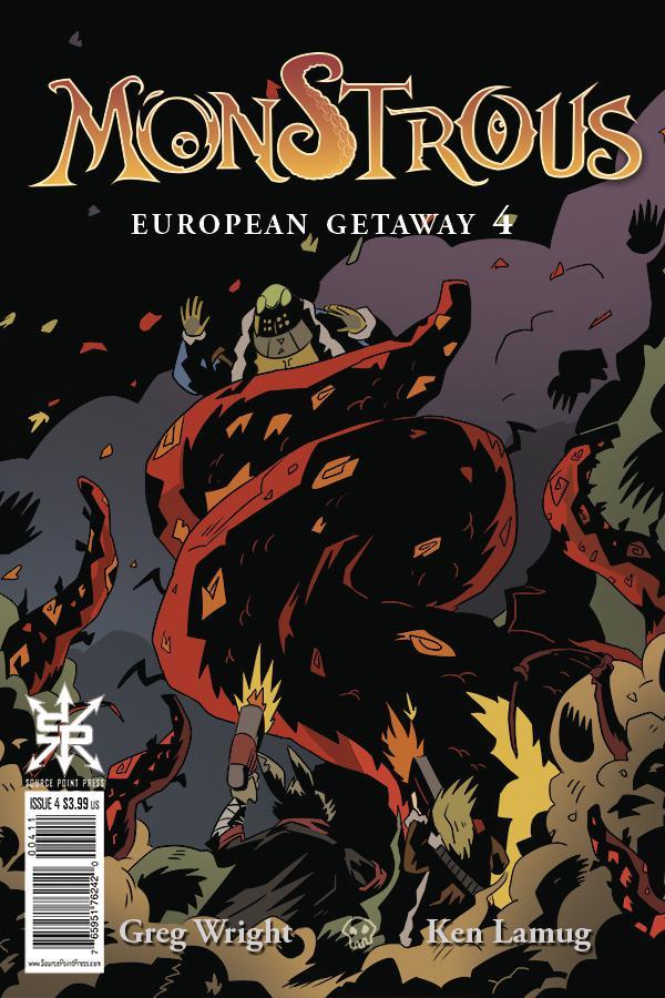 Monstrous European Getaway #4