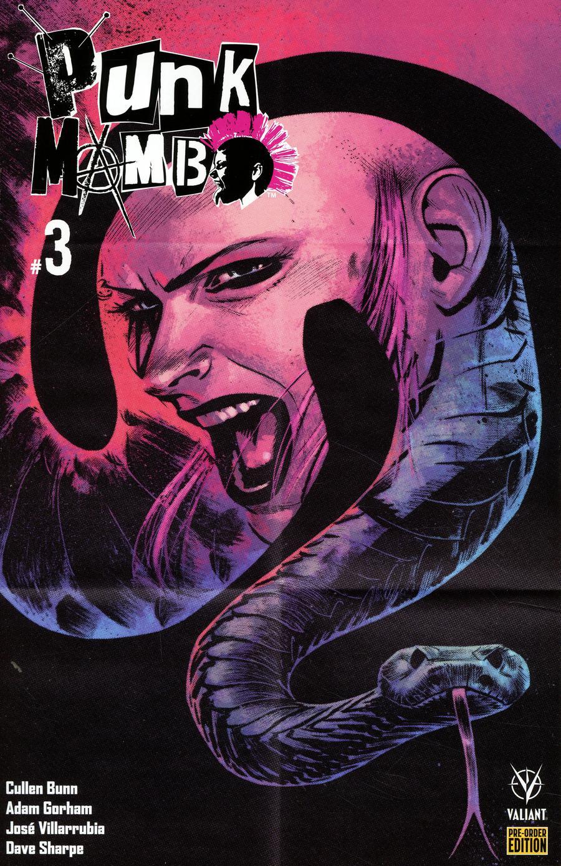Punk Mambo #3 Cover D Variant Adam Gorham Cover