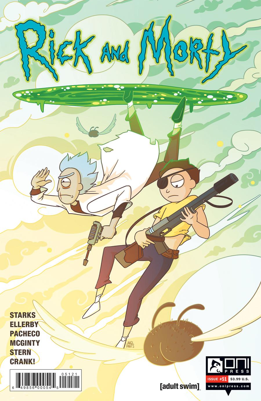 Rick And Morty #51 Cover B Variant Angela Trizzino Cover