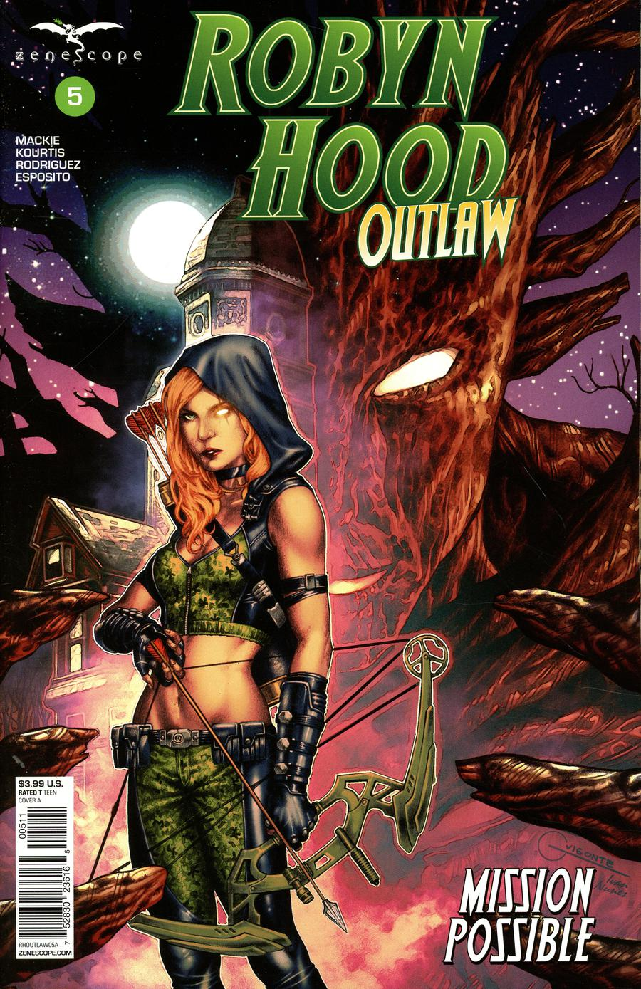 Grimm Fairy Tales Presents Robyn Hood Outlaw #5 Cover A Geebo Vigonte