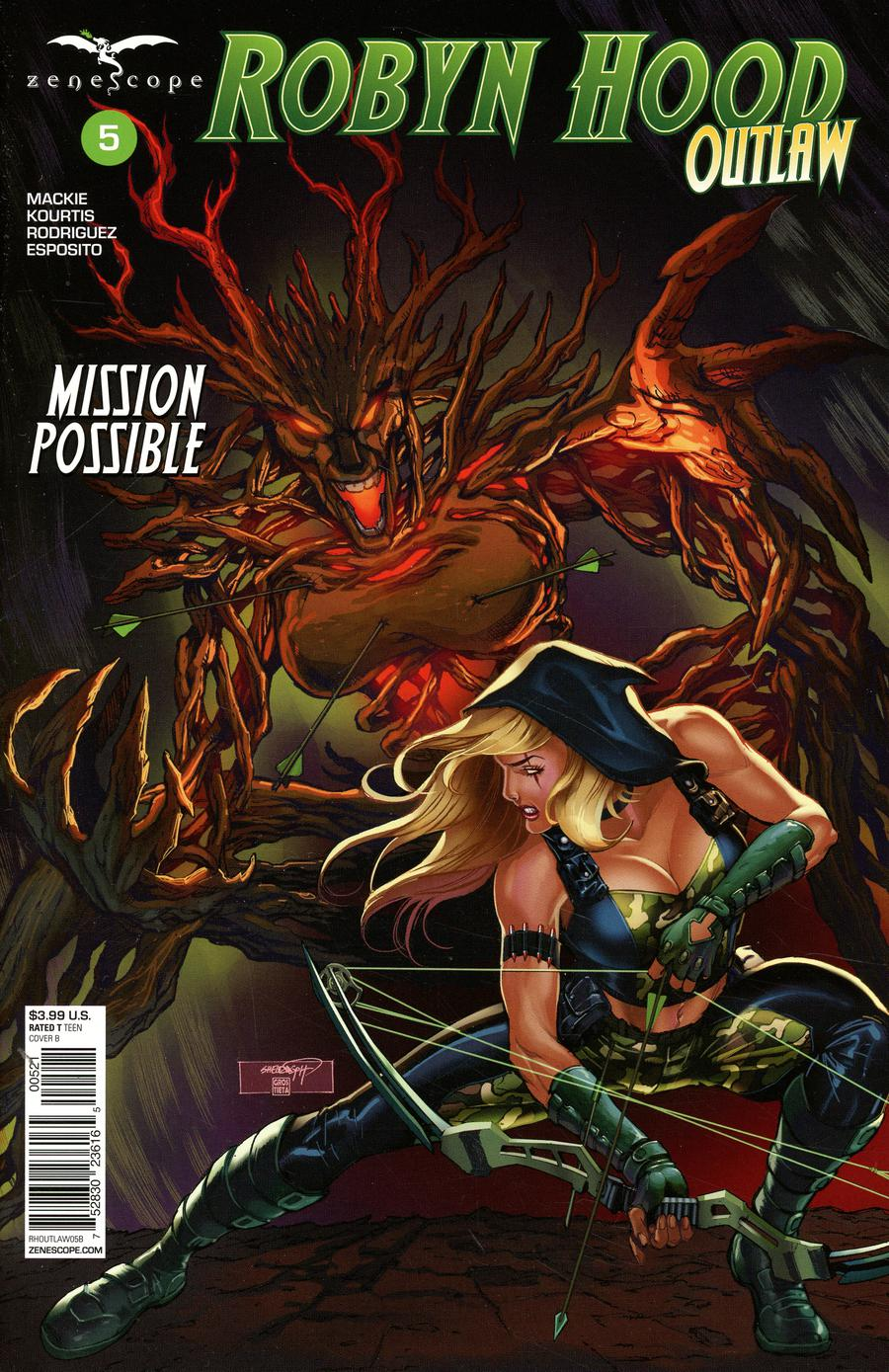 Grimm Fairy Tales Presents Robyn Hood Outlaw #5 Cover B Sheldon Goh