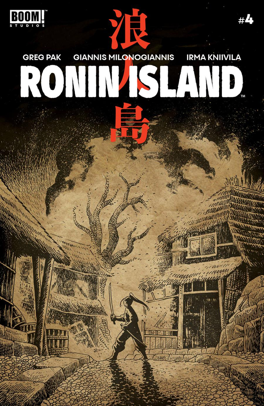 Ronin Island #4 Cover B Variant Ethan Young Preorder Cover