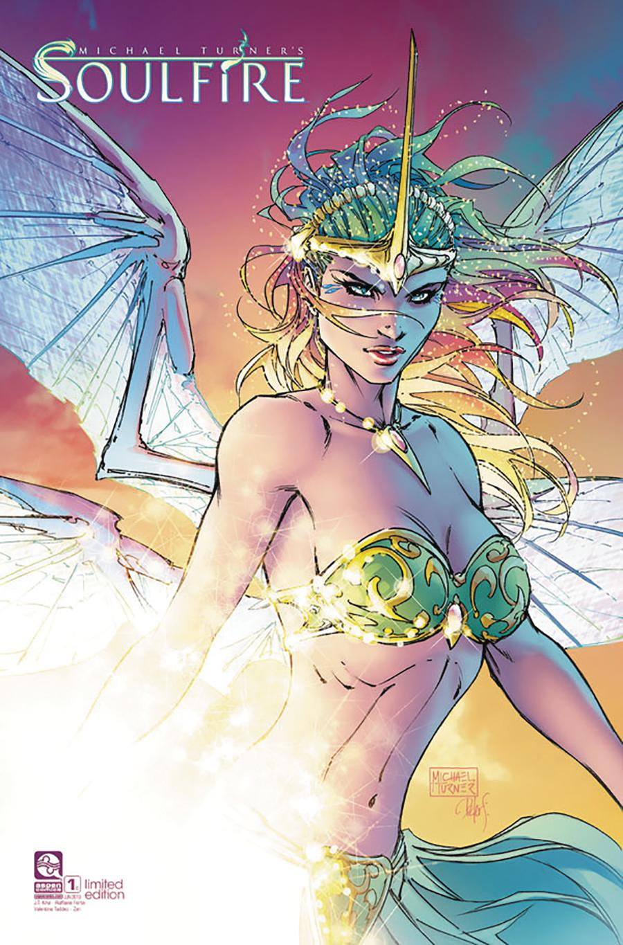 Soulfire Vol 6 #1 Cover D Variant Michael Turner Special Cover