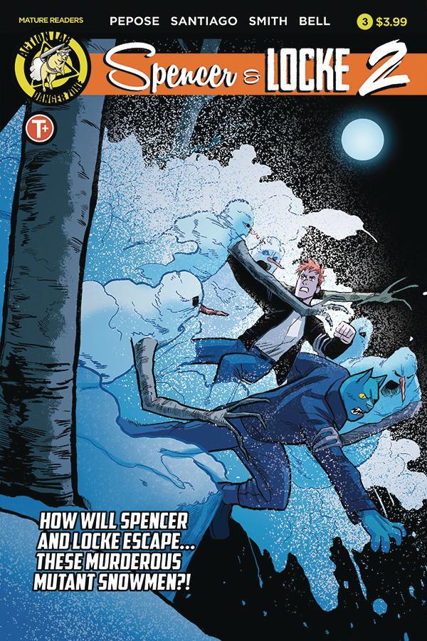 Spencer & Locke Vol 2 #3 Cover A Regular Jorge Santiago Jr Cover