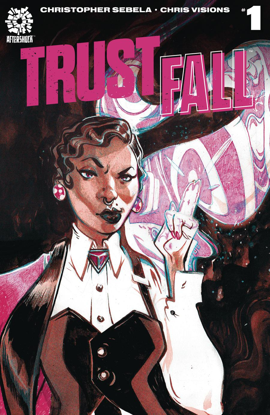 Trust Fall #1 Cover A Regular Chris Visions Cover