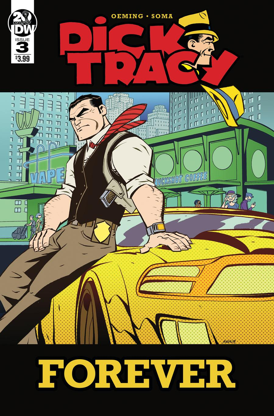Dick Tracy Forever #3 Cover A Regular Michael Avon Oeming Cover