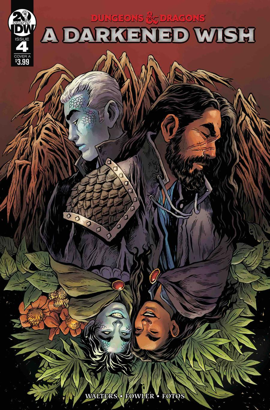 Dungeons & Dragons A Darkened Wish #4 Cover A Regular Tess Fowler Cover