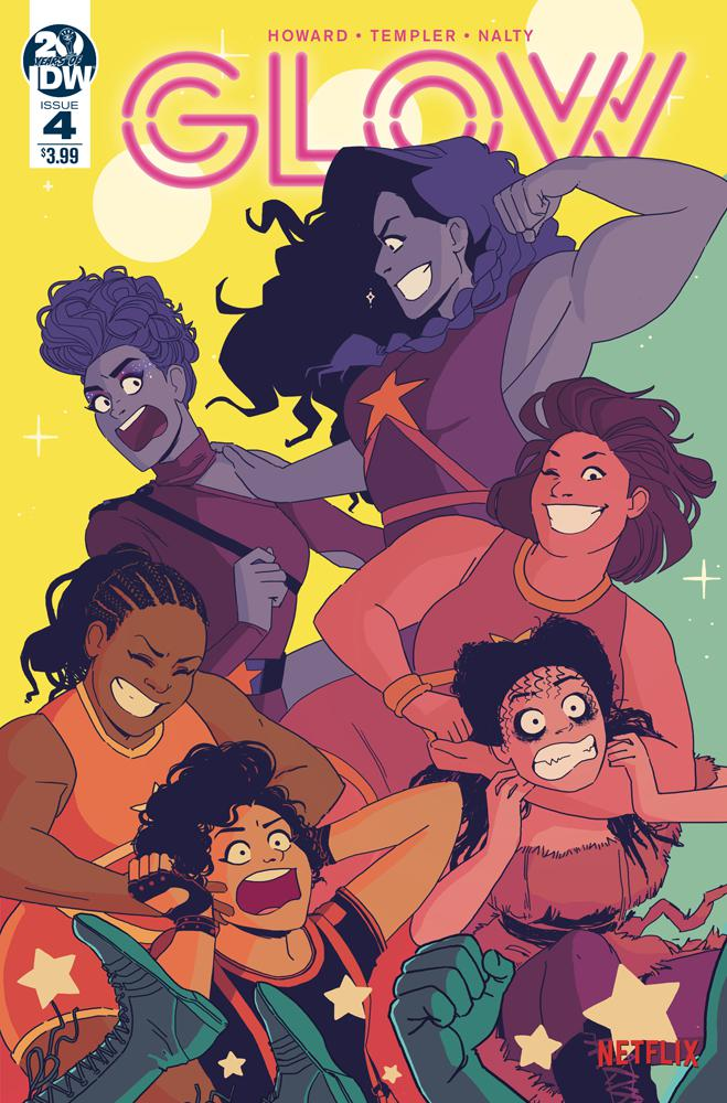 GLOW #4 Cover A Regular Hannah Templer Cover