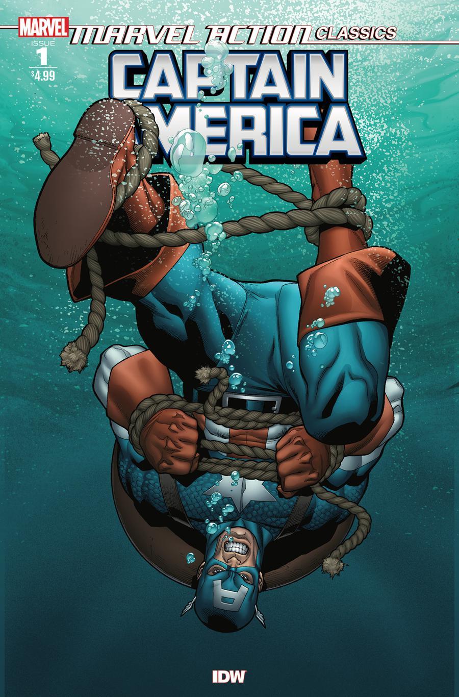 Marvel Action Classics Captain America