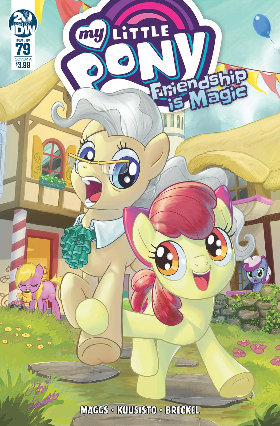 My Little Pony Friendship Is Magic #79 Cover A Regular Toni Kuusisto Cover