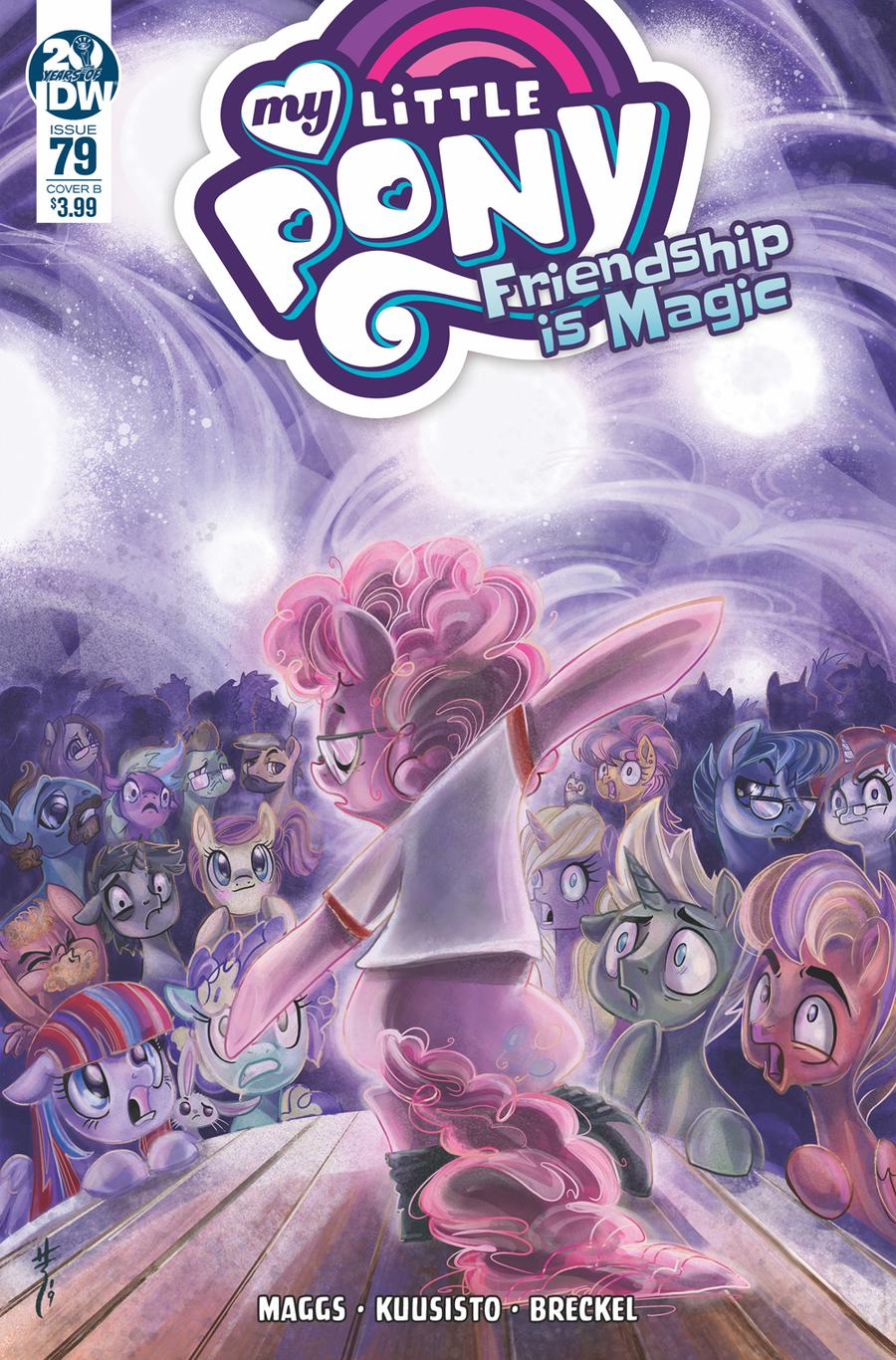 My Little Pony Friendship Is Magic #79 Cover B Variant Sara Richard Cover