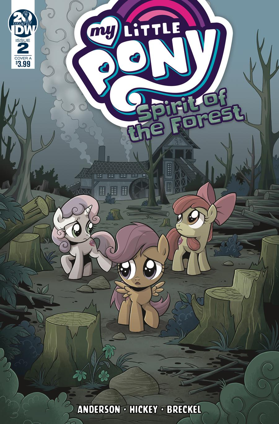 My Little Pony Spirit Of The Forest #2 Cover A Regular Brenda Hickey Cover