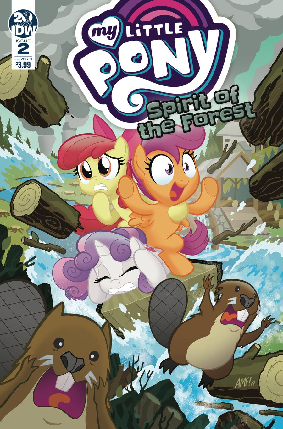 My Little Pony Spirit Of The Forest #2 Cover B Variant Tony Fleecs Cover