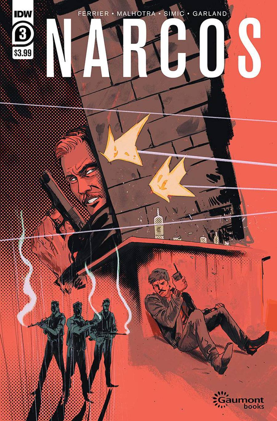 Narcos #3 Cover A Regular Vic Malhotra Cover