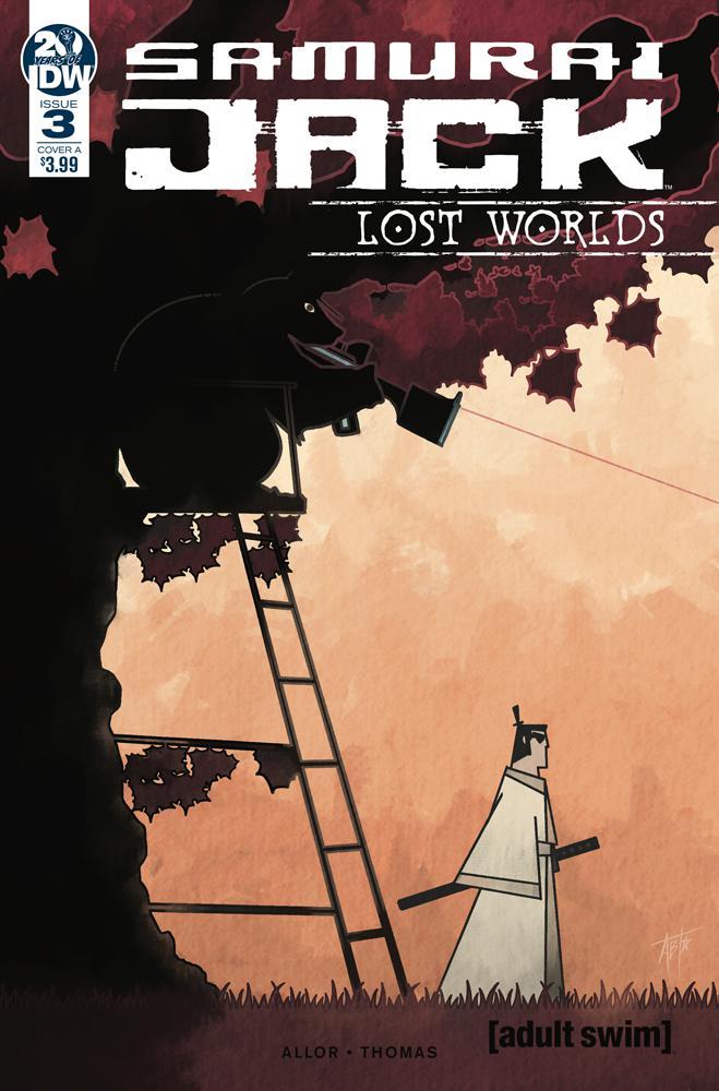 Samurai Jack Lost Worlds #3 Cover A Regular Adam Bryce Thomas Cover