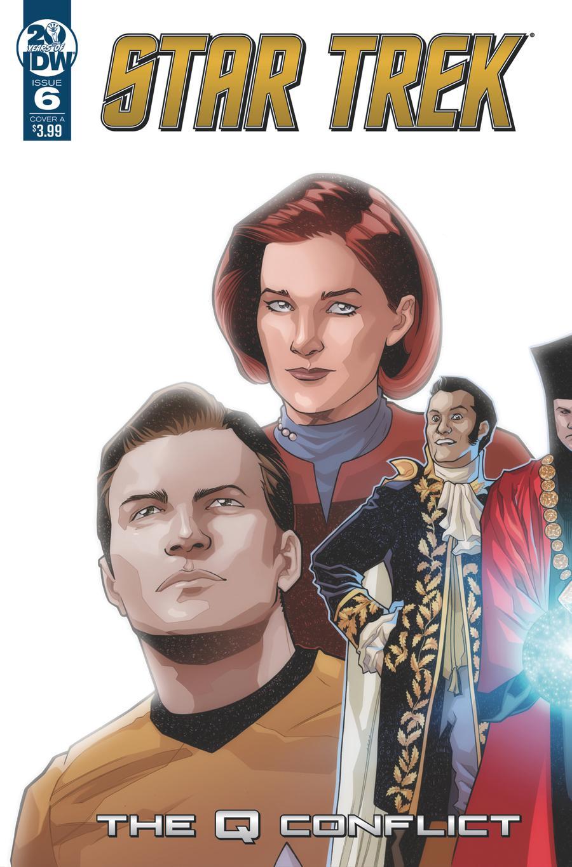 Star Trek Q Conflict #6 Cover A Regular David Messina Cover