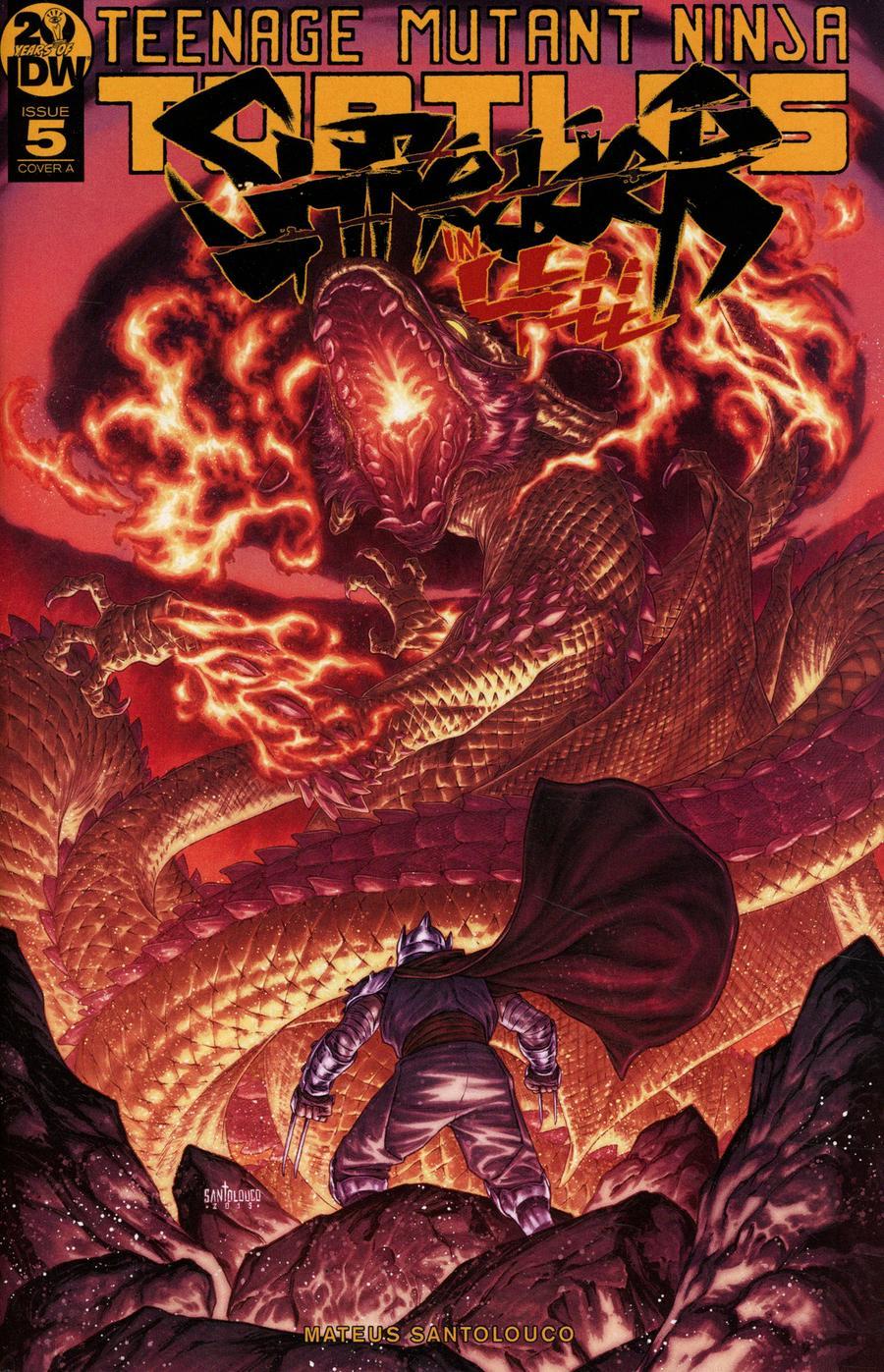 Teenage Mutant Ninja Turtles Shredder In Hell #5 Cover A Regular Mateus Santolouco Cover