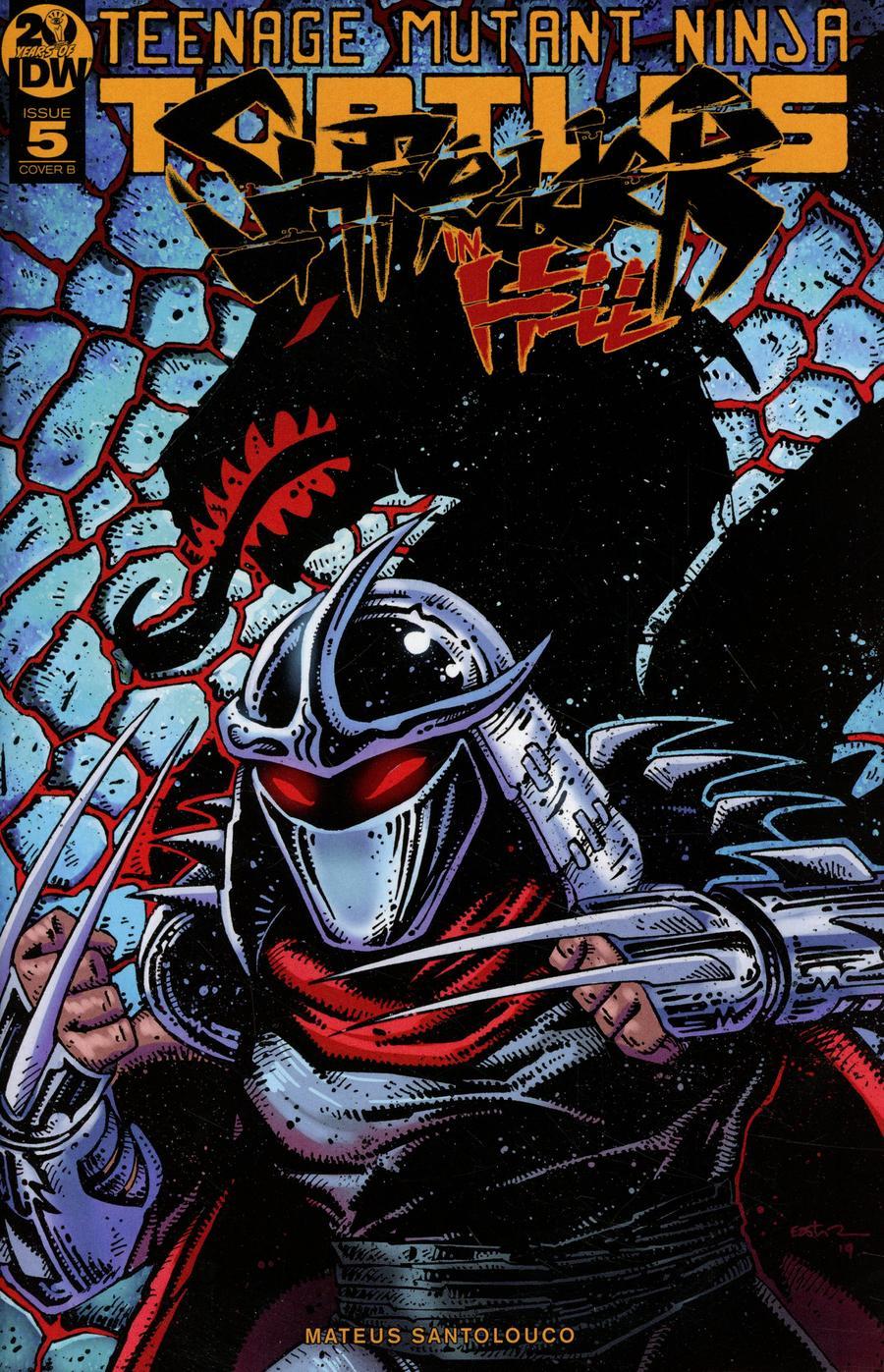 Teenage Mutant Ninja Turtles Shredder In Hell #5 Cover B Variant Kevin Eastman Cover
