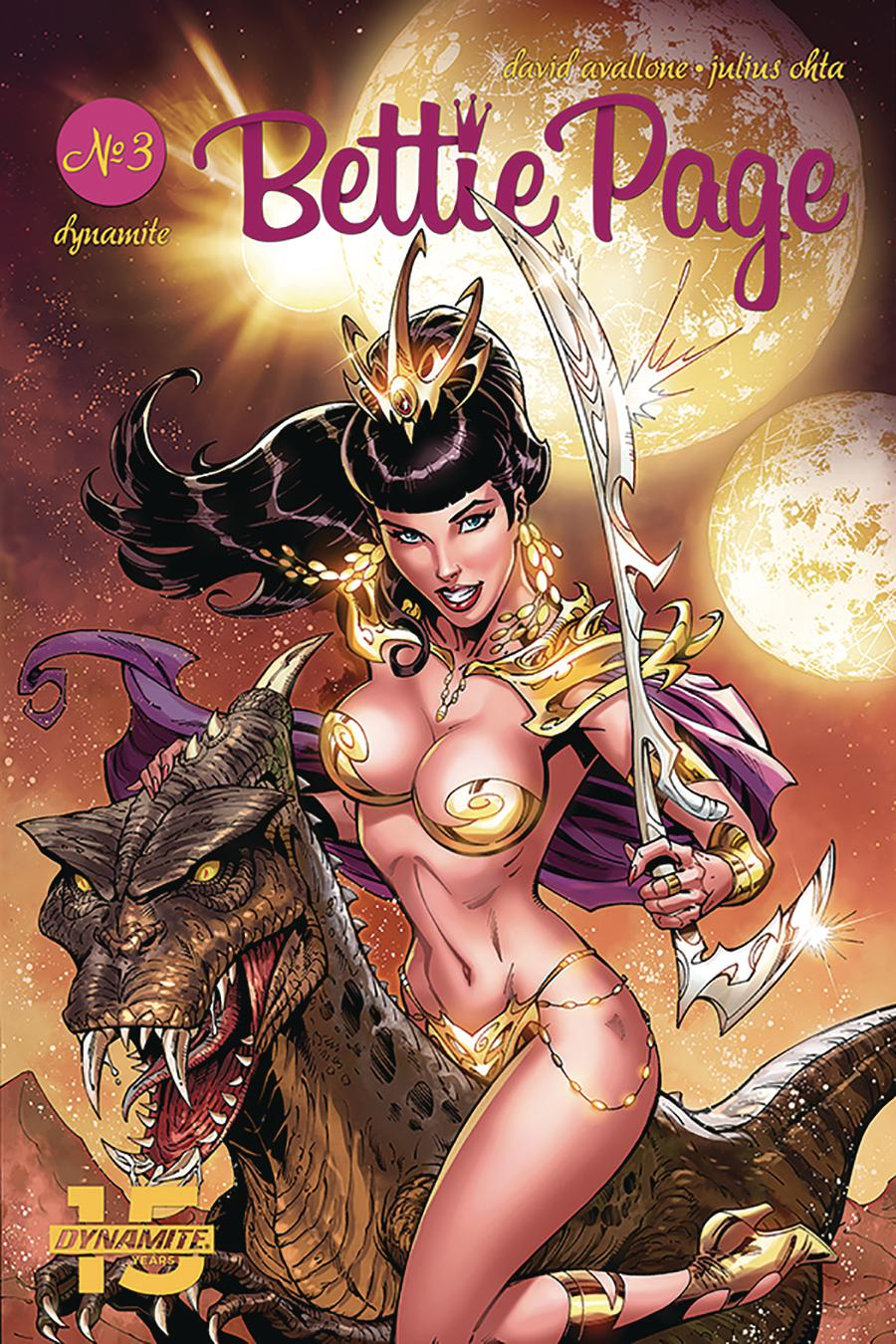 Bettie Page Unbound #3 Cover A Regular John Royle Cover