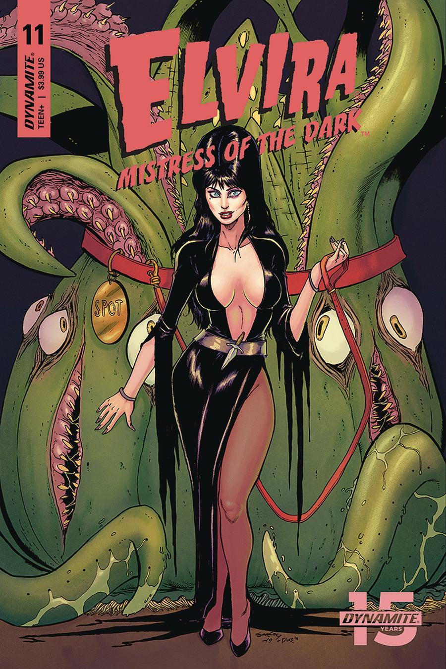 Elvira Mistress Of The Dark Vol 2 #11 Cover A Regular Tim Seeley Cover