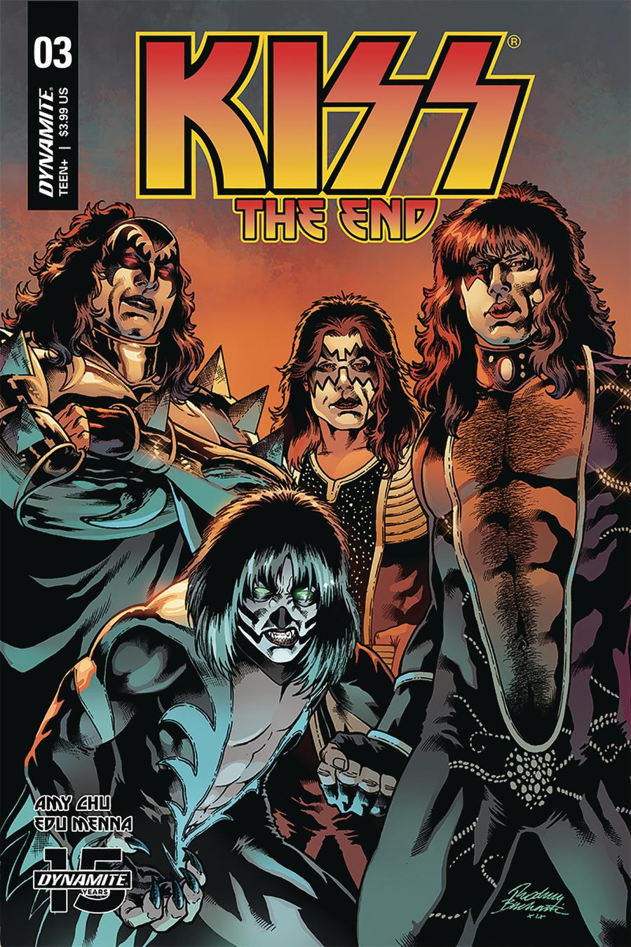 KISS The End #3 Cover C Variant Rodney Buchemi Cover