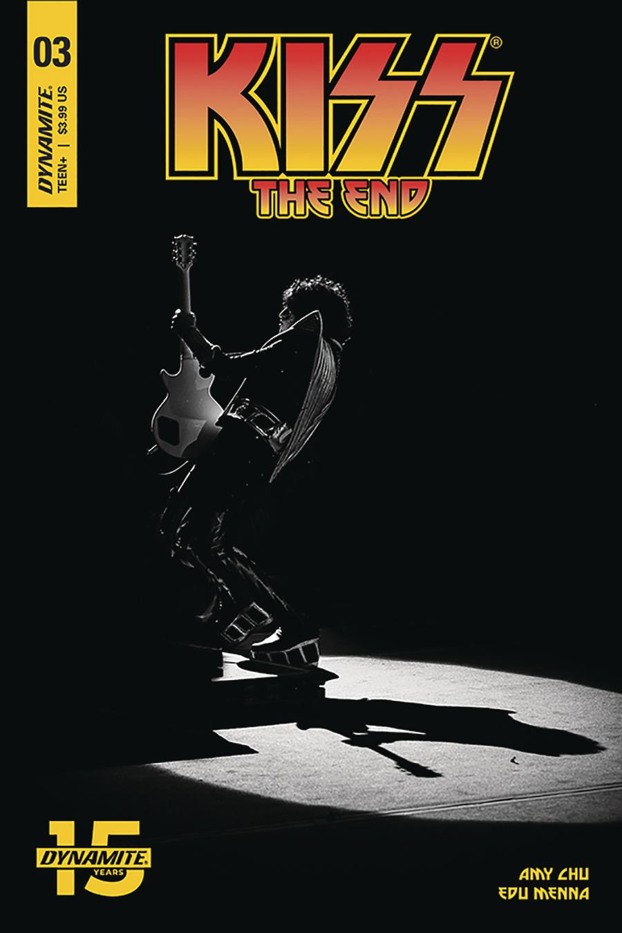 KISS The End #3 Cover D Variant Photo Cover