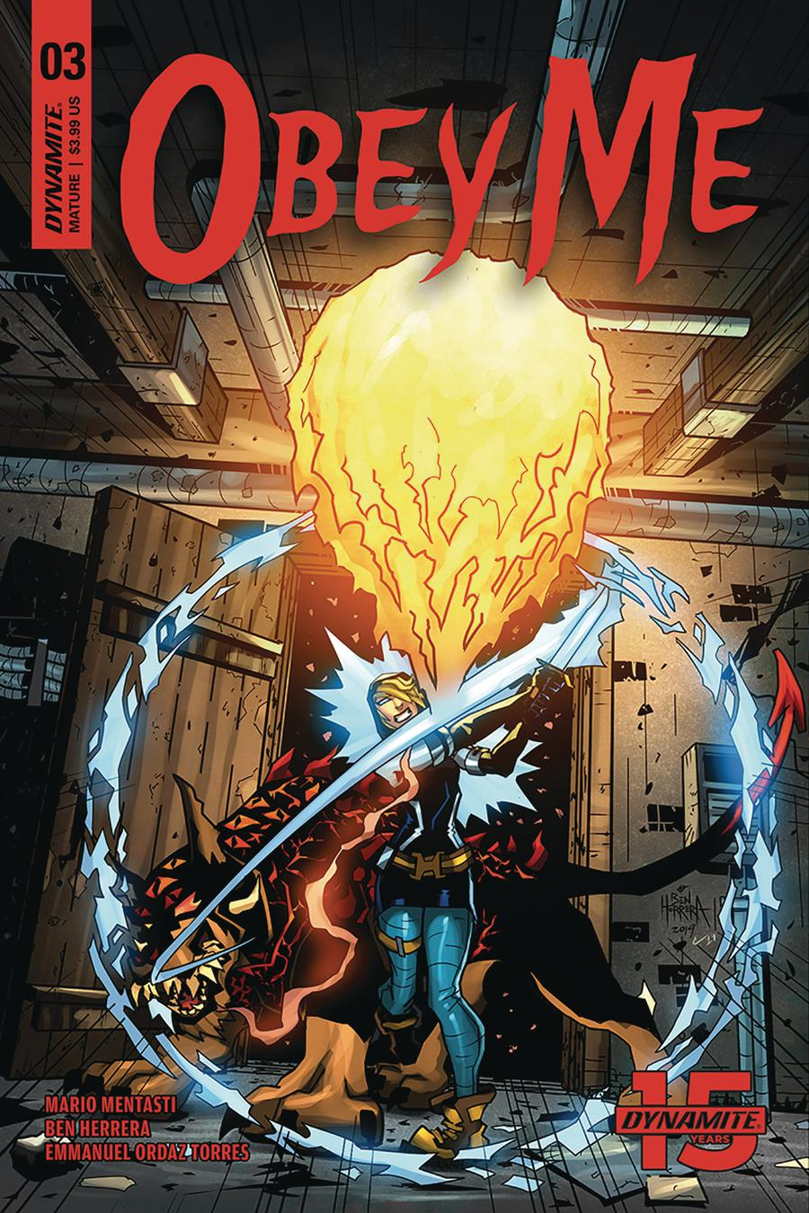 Obey Me #3 Cover A Regular Ben Herrera Cover