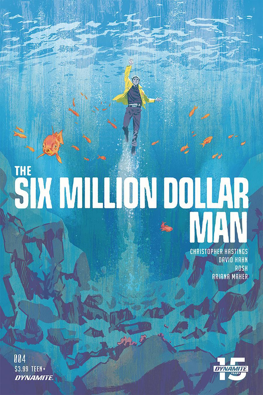 Six Million Dollar Man Vol 2 #4 Cover A Regular Michael Walsh Cover