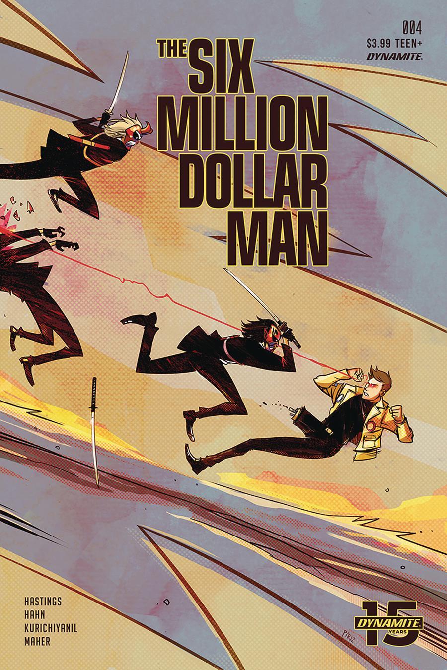 Six Million Dollar Man Vol 2 #4 Cover B Variant Sebastian Piriz Cover