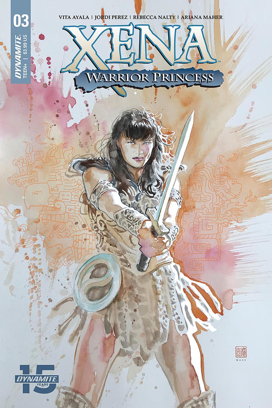 Xena Warrior Princess Vol 4 #3 Cover A Regular David Mack Cover
