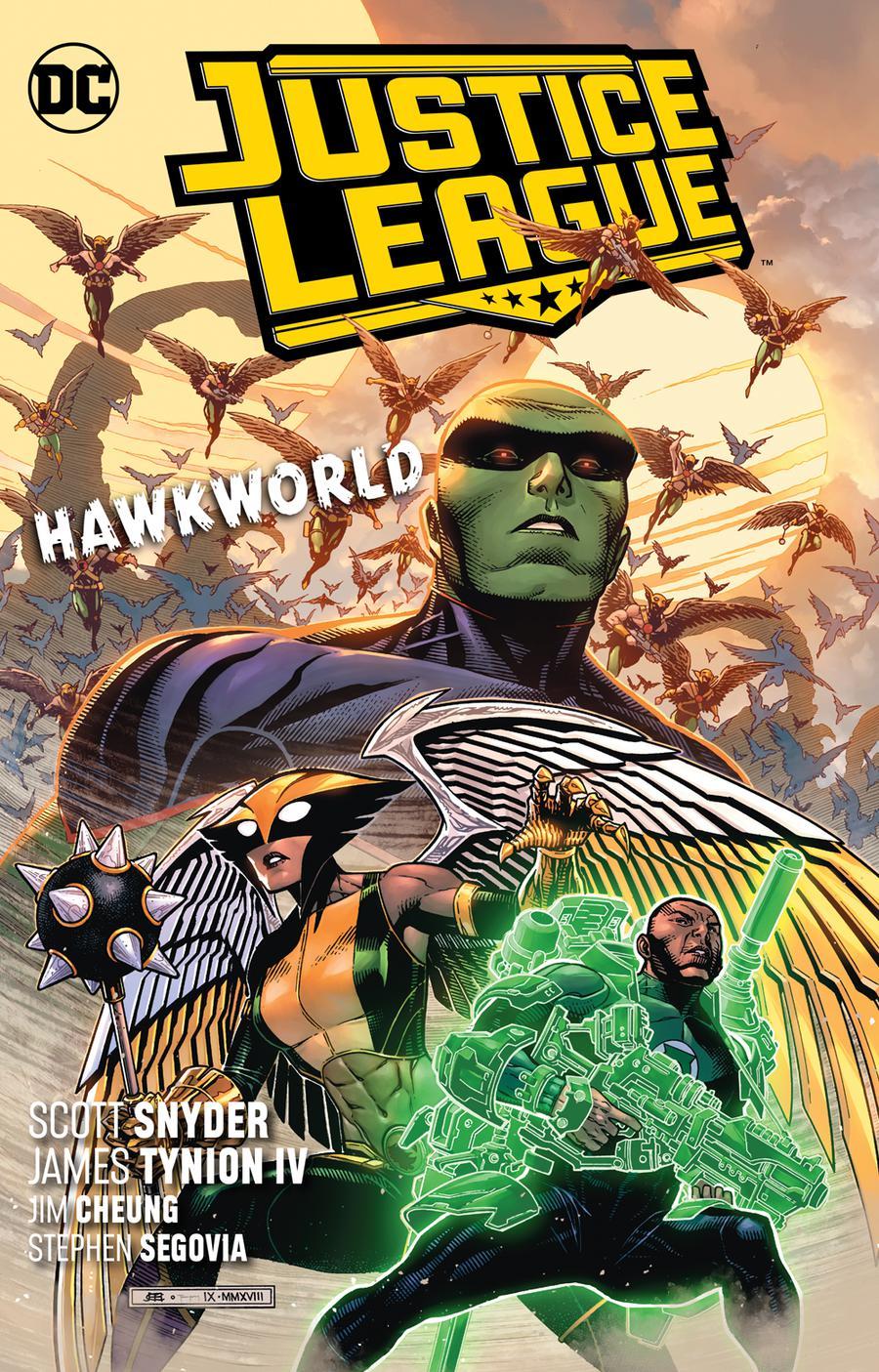 Justice League (2018) Vol 3 Hawkworld TP