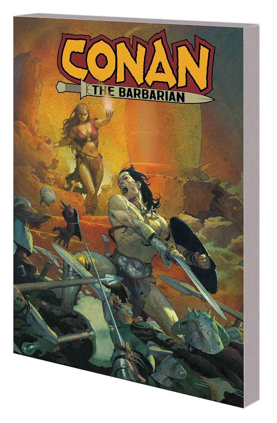 Conan The Barbarian Vol 1 Life And Death Of Conan Book 1 TP