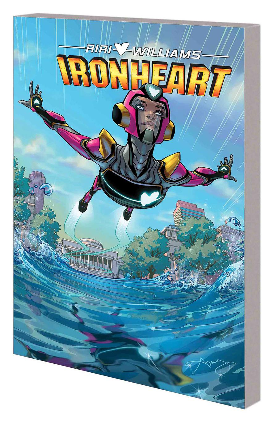Ironheart Vol 1 Those With Courage TP