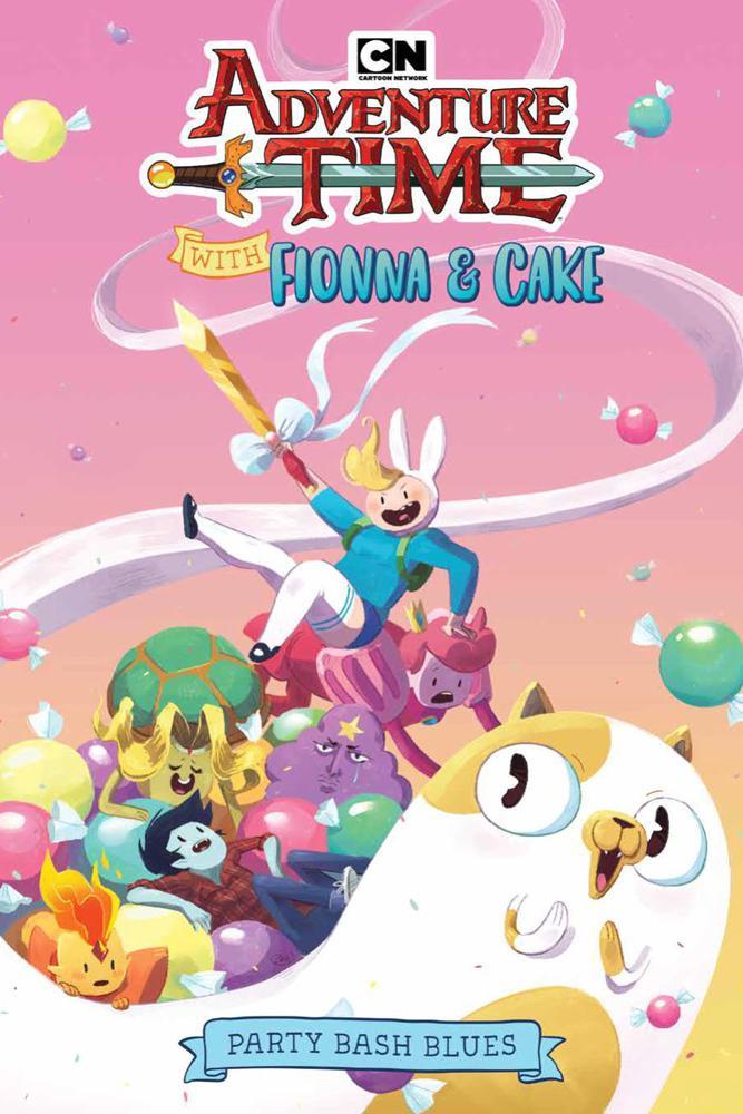 Adventure Time With Fionna Cake Original Graphic Novel Vol 1 Party Bash Blues TP