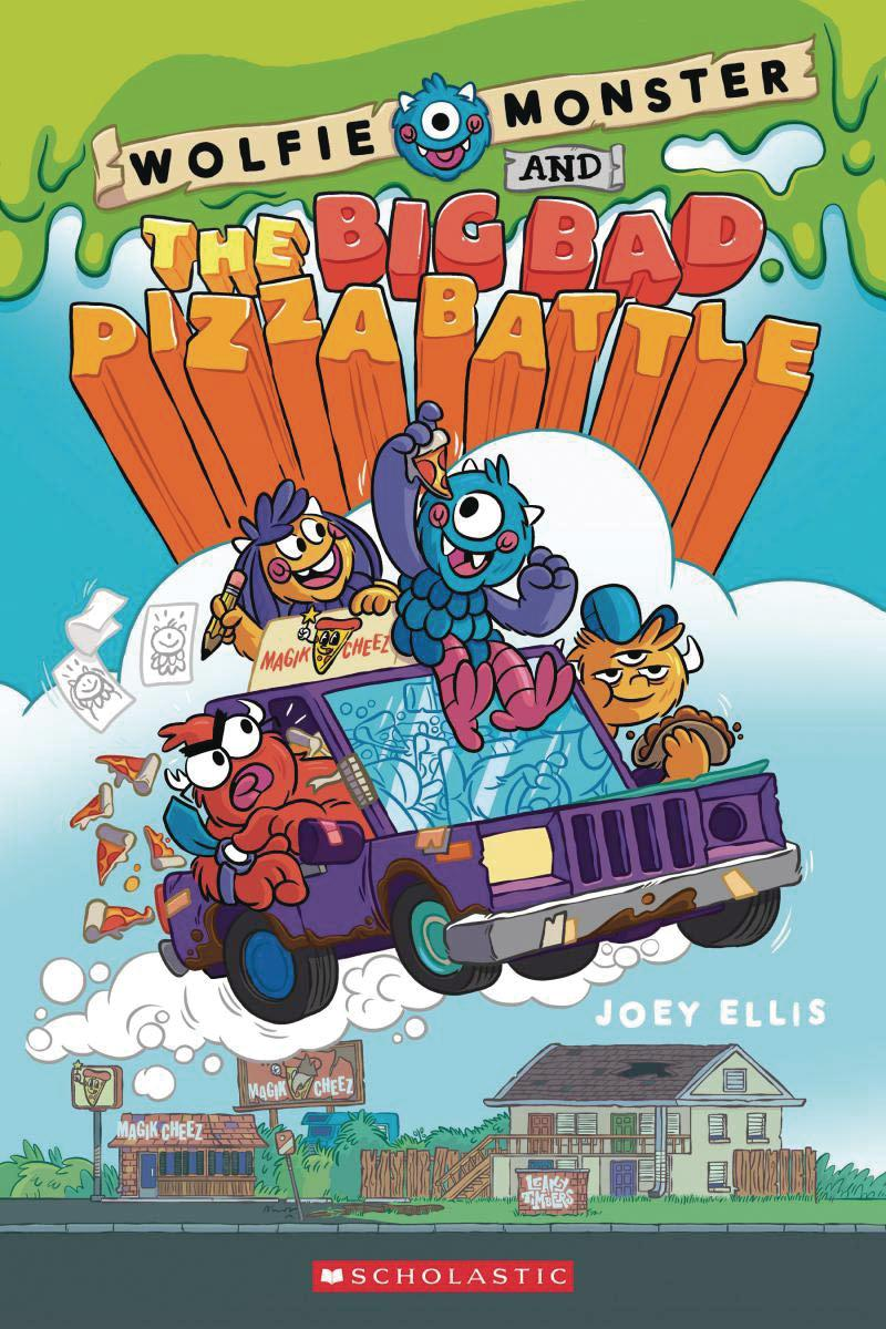 Wolfie Monster And The Big Bad Pizza Battle Vol 1 TP