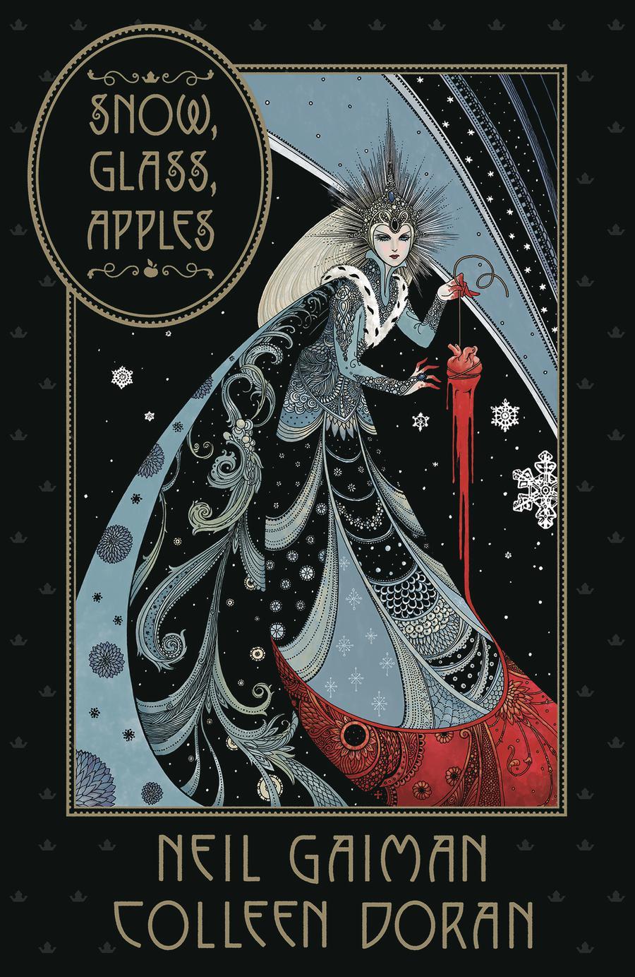 Snow Glass Apples HC